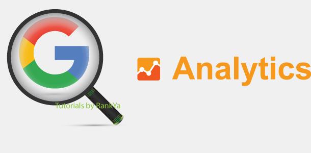 Google Analytics tutorials by RankYa