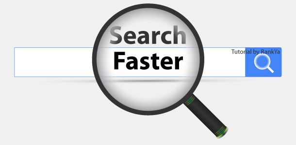 search faster
