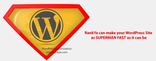 superman fast WordPress site